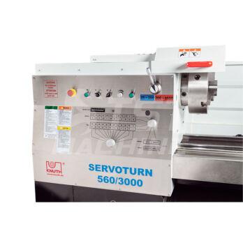 Servoturn 560/3000 szervómotoros Precíziós eszterga Pozicionerrel