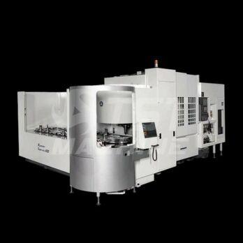 Supercell-400 ultrapecízós 5 tengelyes többpalettás gyártócella