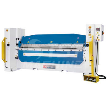 HBM 2045 Hidraulikus élhajlító pozicionerrel (Folding Machine)