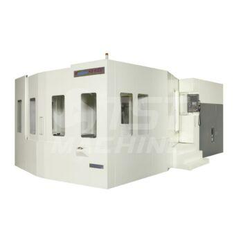 Mycenter-HX1000iTGA 4 tengelyes vízszintes CNC megmunkáló központ