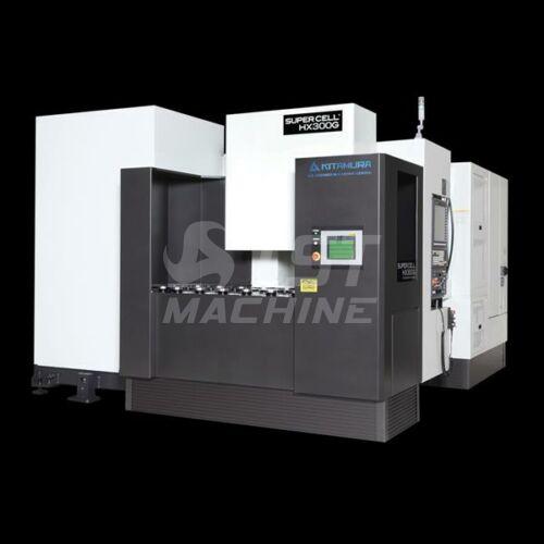 Supercell-300G ultraprecíziós 5 tengelyes CNC többpalettás gyártócella