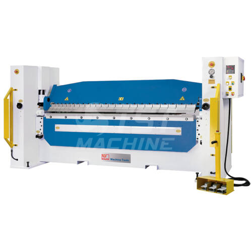 HBM 2565 Hidraulikus élhajlító pozicionerrel (Folding Machine)