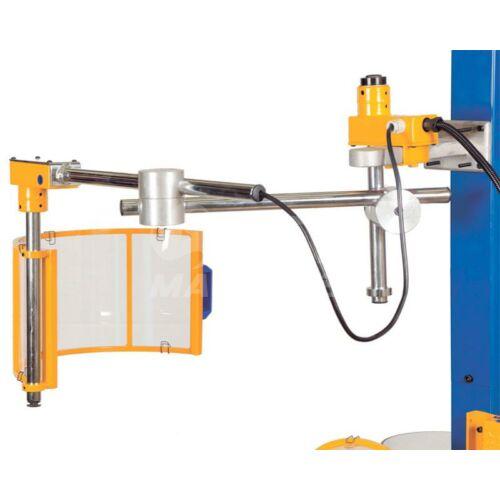 Marógép- Biztonsági védőburkolat Ø 400mm (jobb)
