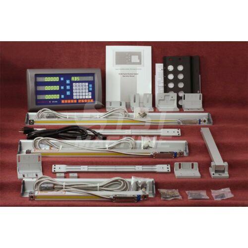 Útmérő rendszer 3 tengelyre