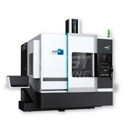 Ingersoll VDWB50 Öttengelyes CNC megmunkálóközpont Heidenain iTNC530 vezérléssel eszterga funkcióval